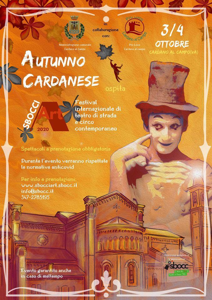 Autunno Cardanese – Festival di circo e teatro di strada