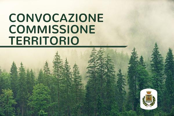 Convocazione Commissione Territorio