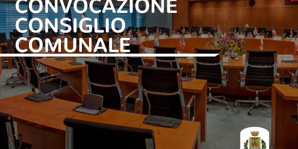 Convocazione Consiglio Comunale 30 settembre 2021 ore 19.00
