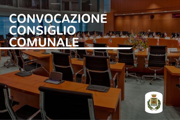 Convocazione Consiglio comunale 29.07.2021 – ore 19.00
